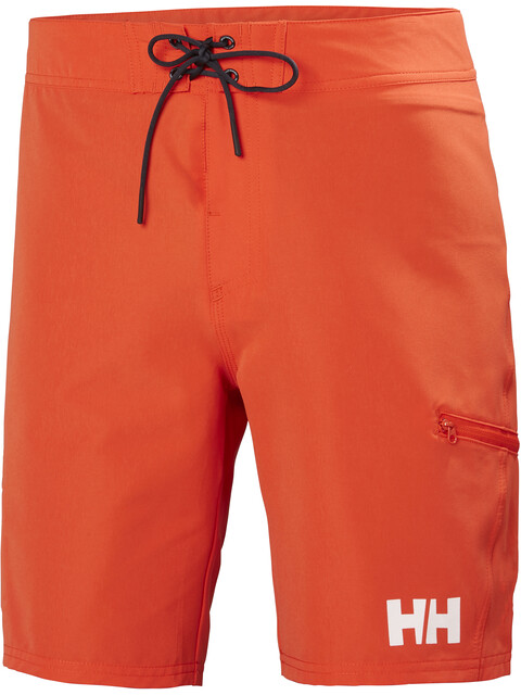 "Helly Hansen M's HP Board Shorts 9"" Cherry Tomato"